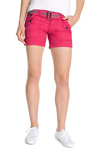 edc by ESPRIT Damen Short TURNUP, Gr. 32, Rosa (PINK GRAPEFRUIT 653)