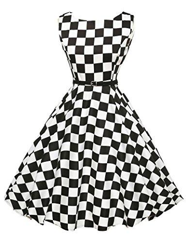 50s vintage petticoat kleid audrey hepburn kleid rockabilly kleid festliches kleid Größe 3XL CL6086-10