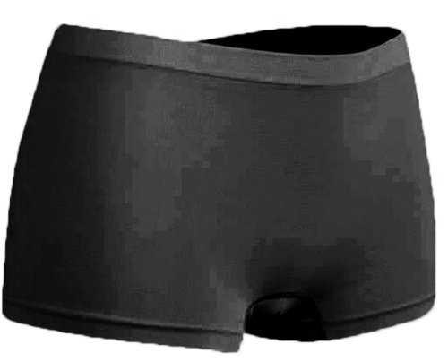 r-dessous 6 Stück schwarz Microfaser Panty Damen Hipster Unterwäsche Groesse: S/M