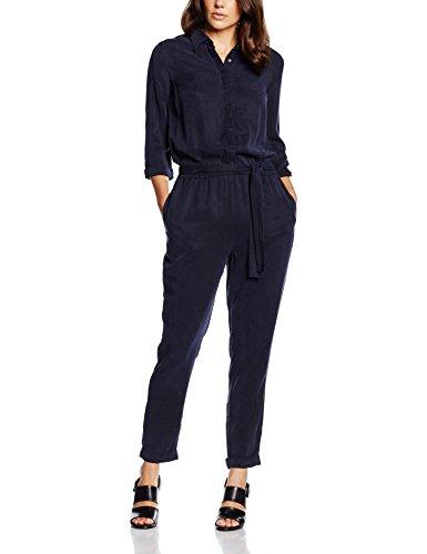 s.Oliver Damen Jumpsuits 14.603.85.4615, Blau (Navy 5959), W32 (Herstellergröße: 42)