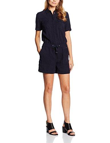 s.Oliver Damen Jumpsuits 14.605.85.4690, Blau (Navy 5959), 46