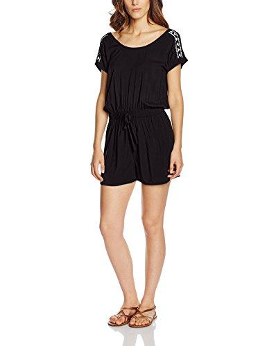 Q/S designed by - s.Oliver Damen Jumpsuits 41.605.85.6188, Schwarz (Black 99L0), 36 (Herstellergröße: S)