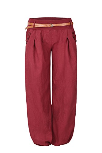 AO Chino Pumphose Gr. L / XL bordeaux