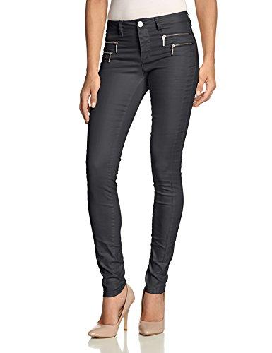 ONLY Damen Skinny Hose 15069823, Gr. 38 (Herstellergröße: M), Grau (Asphalt)