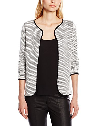ONLY Damen Strickjacke Onldiamond Ls Cardigan Noos, Gr. 38 (Herstellergröße: M), Weiß (Cloud Dancer Detai BLACK)