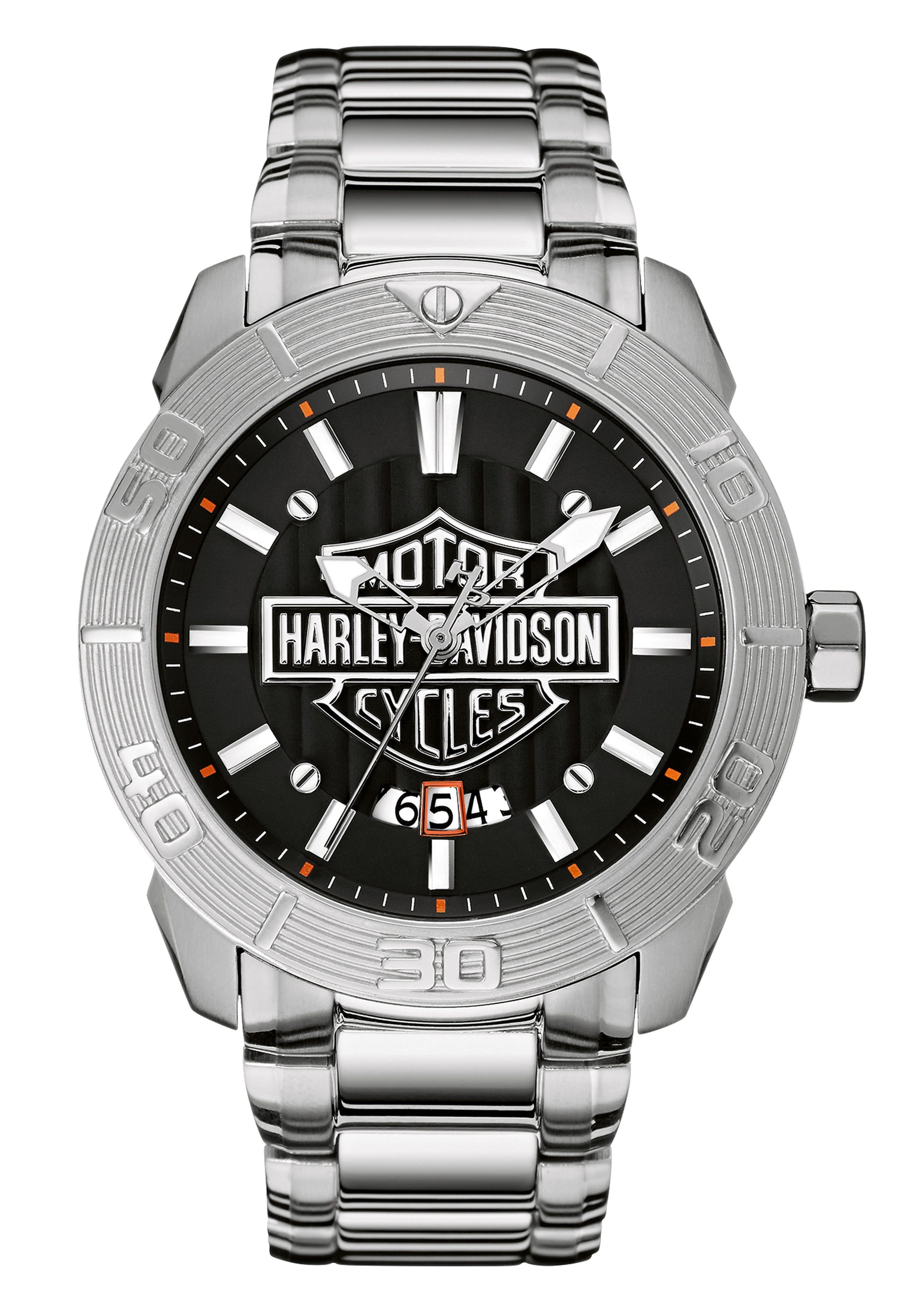 Harley Davidson, Armbanduhr, ´´Raised Brake Lever, 76B169´´