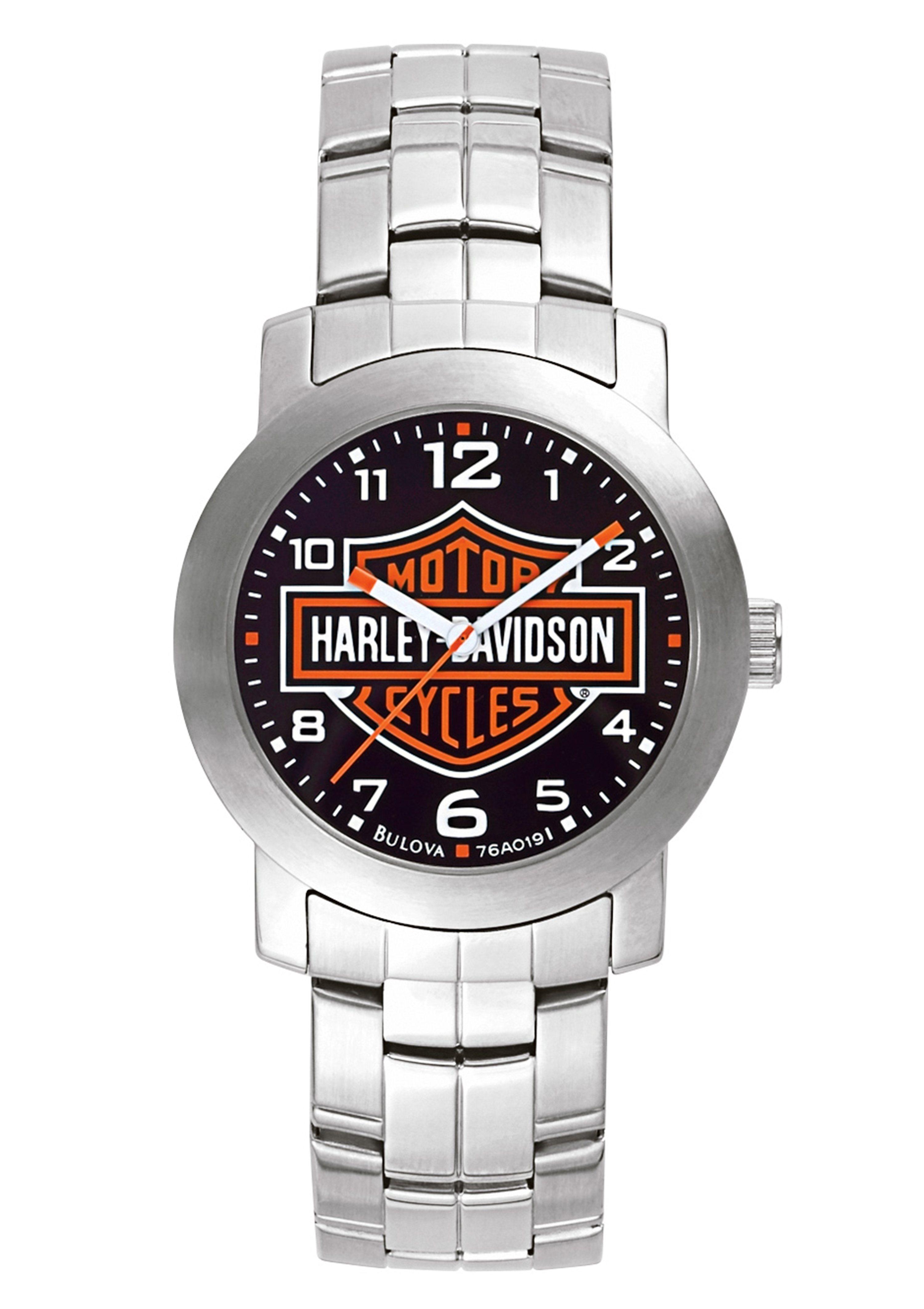 Harley Davidson, Armbanduhr, ´´Decals, 76A019´´