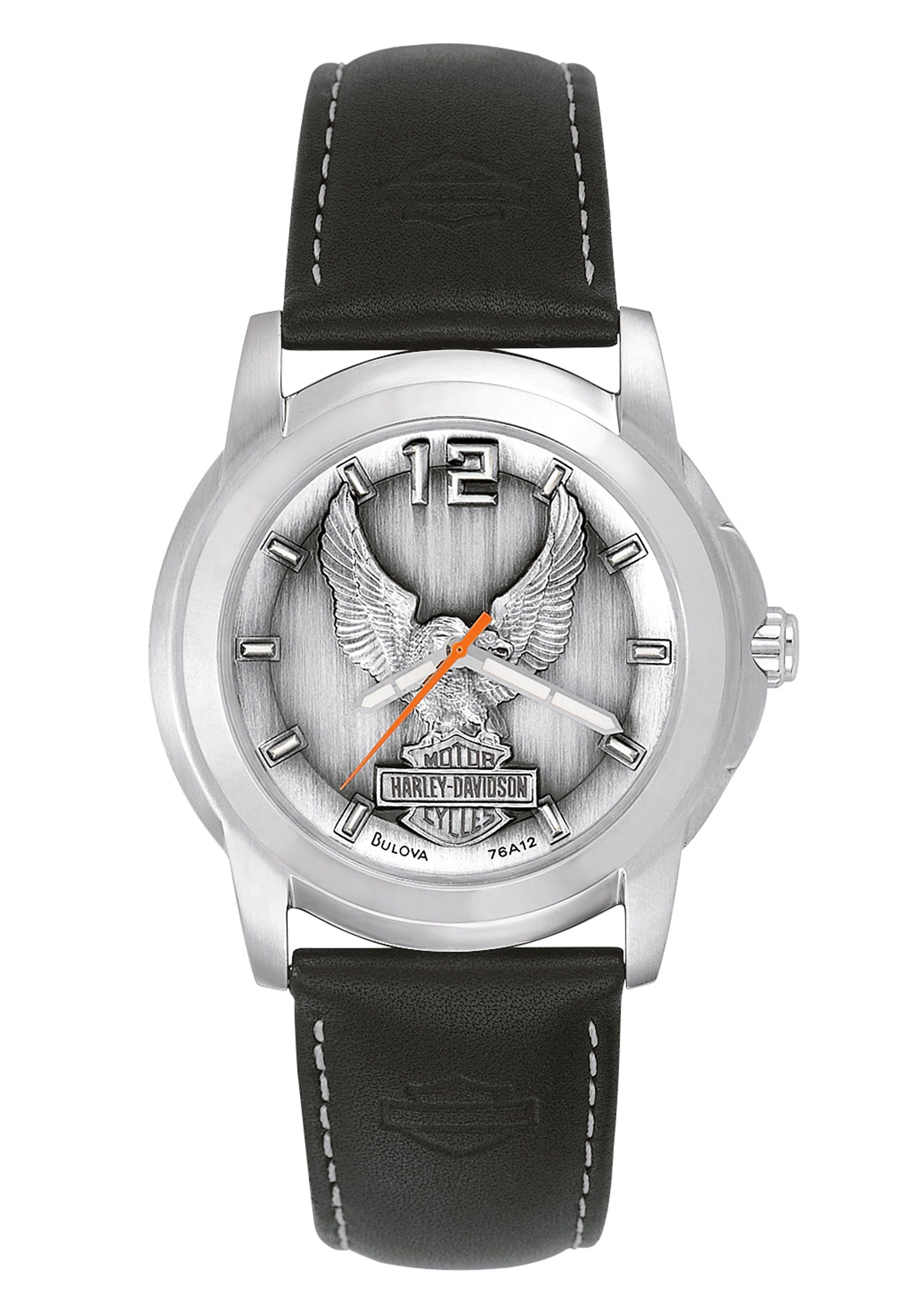 Harley Davidson, Armbanduhr, ´´Signature, 76A12´´