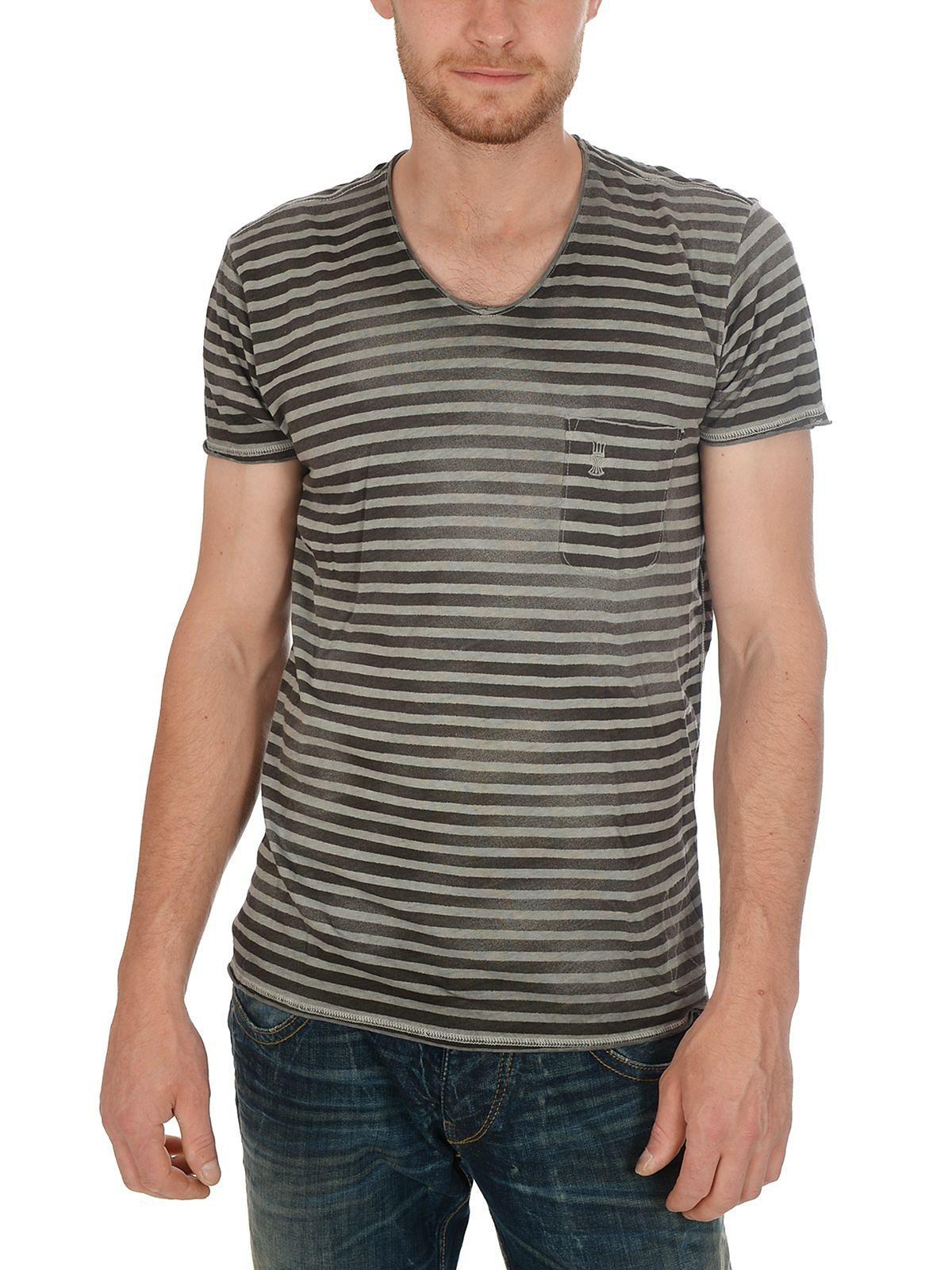 Herrlicher T-Shirt »Robby Jersey Striped«