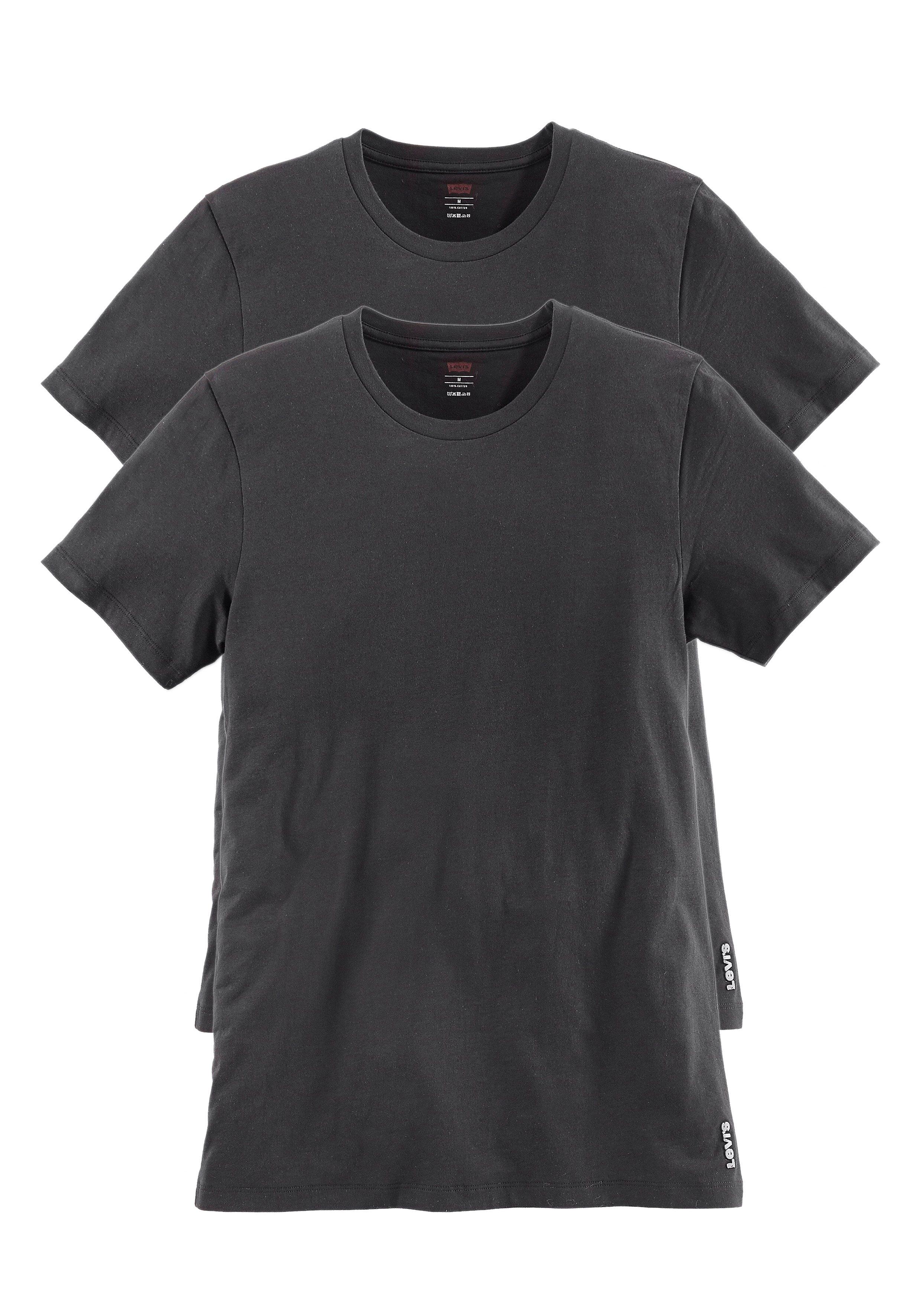 Levi´s® T-Shirt Rundhals (2 Stück) schönes Basic-Shirt