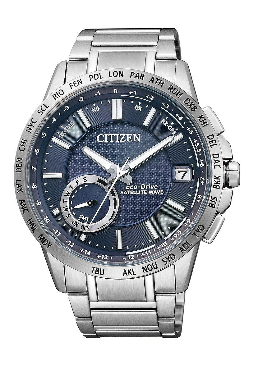 Citizen Solaruhr »CC3000-54L« Mit Satelitte Timekeeping System