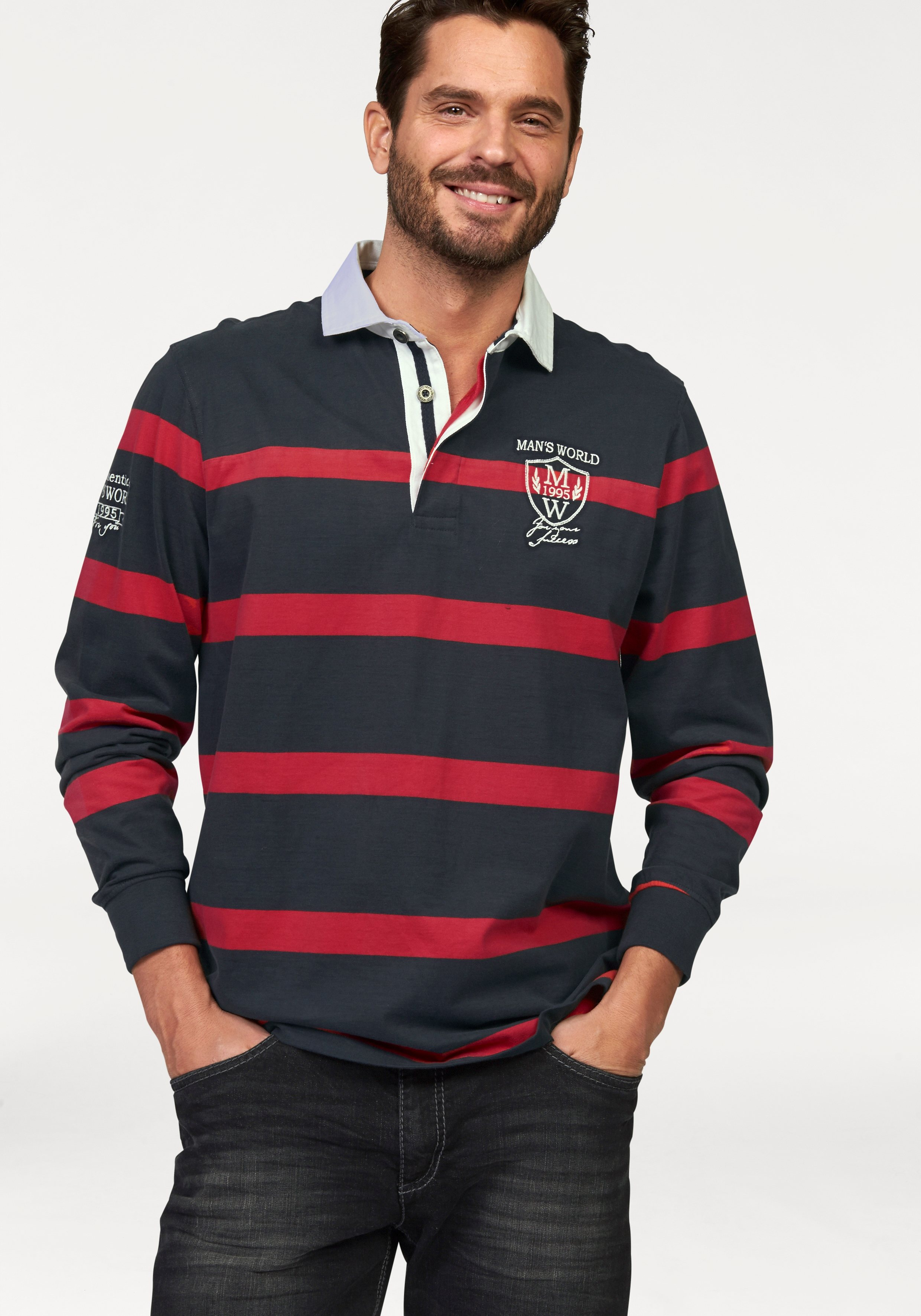Man´s World Rugbyshirt