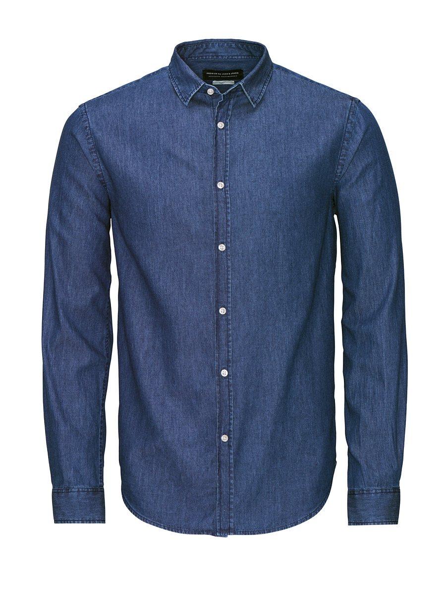 Jack & Jones Markantes Jeans- Langarmhemd