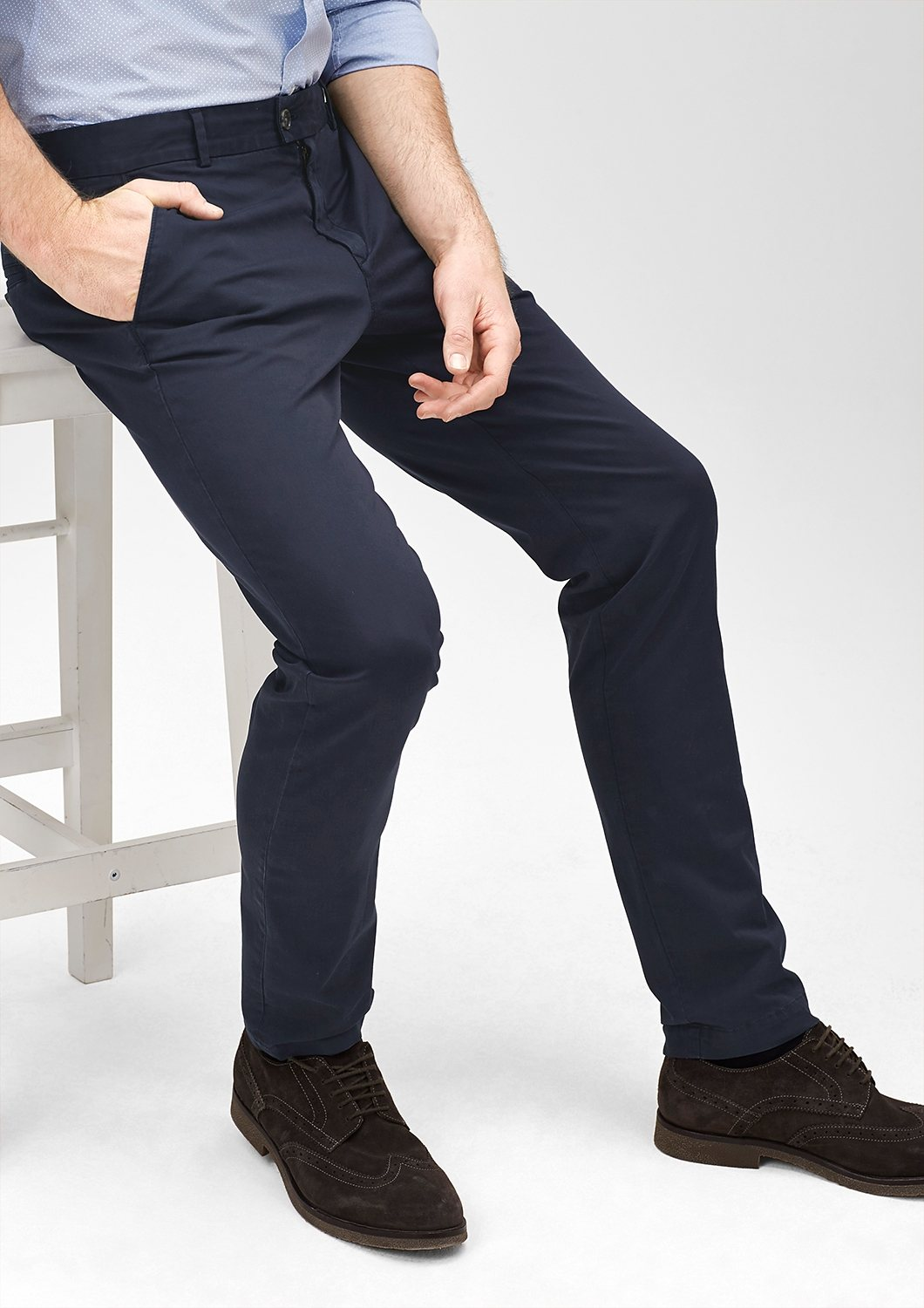 s.Oliver BLACK LABEL Mauro Slim: Stretchige Chino