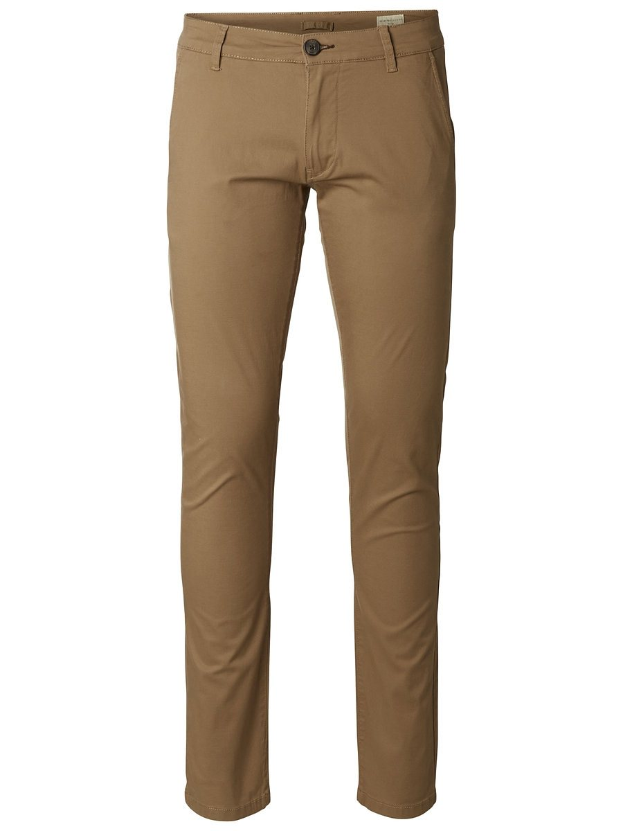 Selected Normal sitzende Chino
