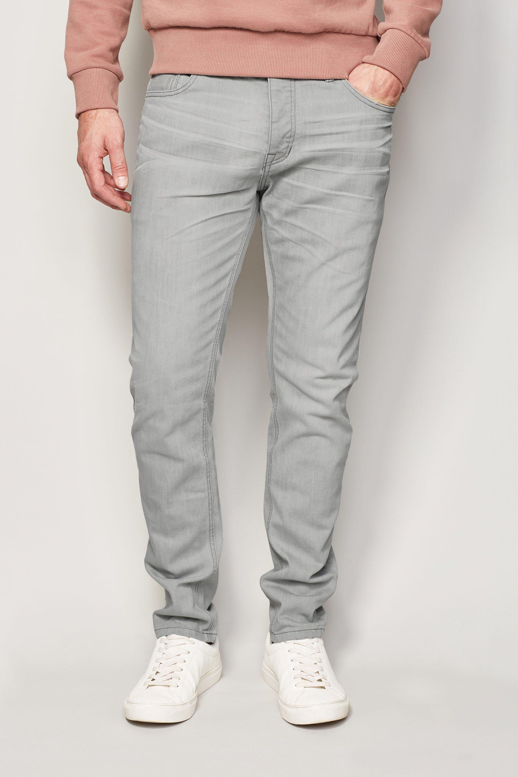 Next Skinny-Fit Light Grey Stretch-Jeans