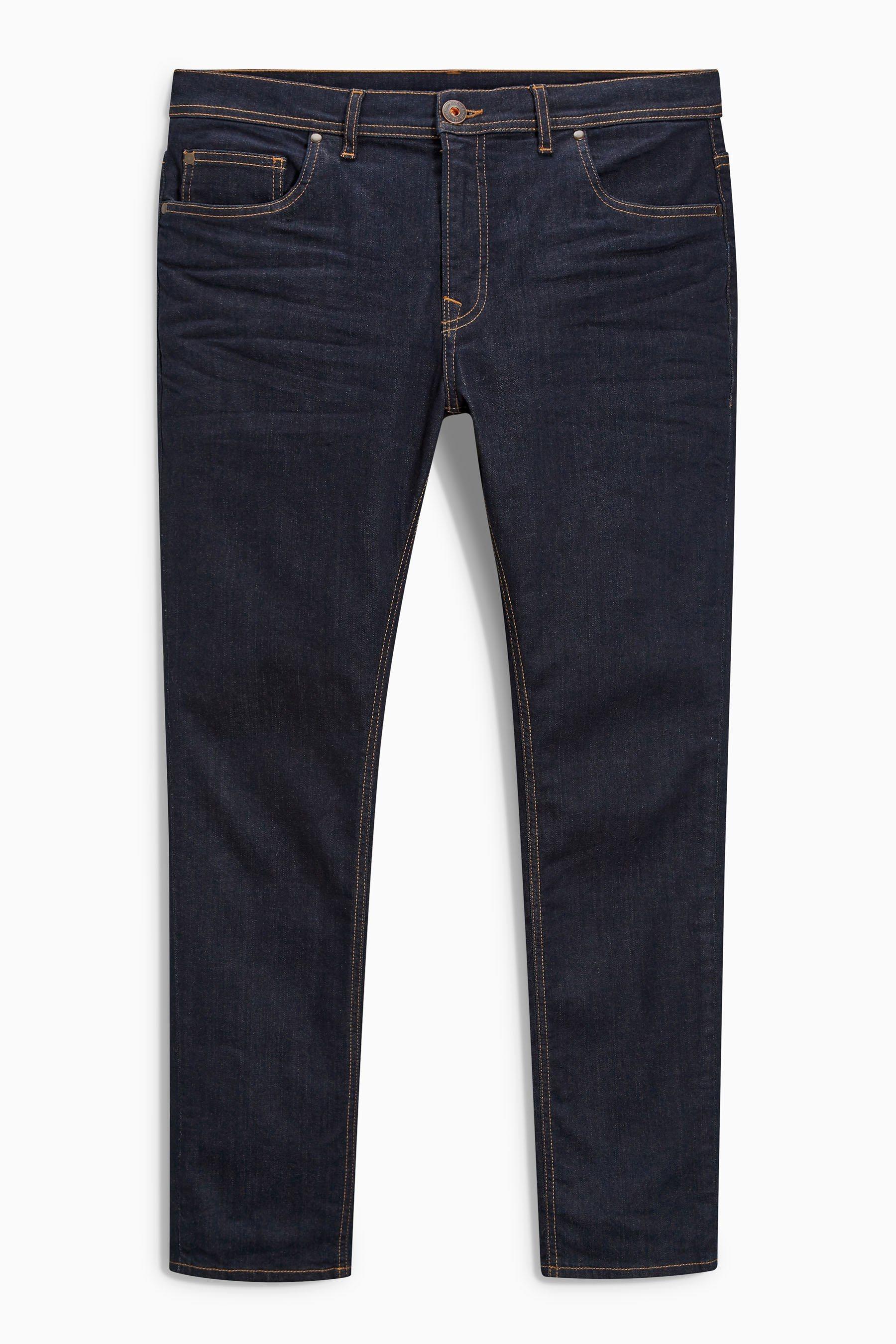 Next Skinny-Fit Dark Ink Stretch-Jeans