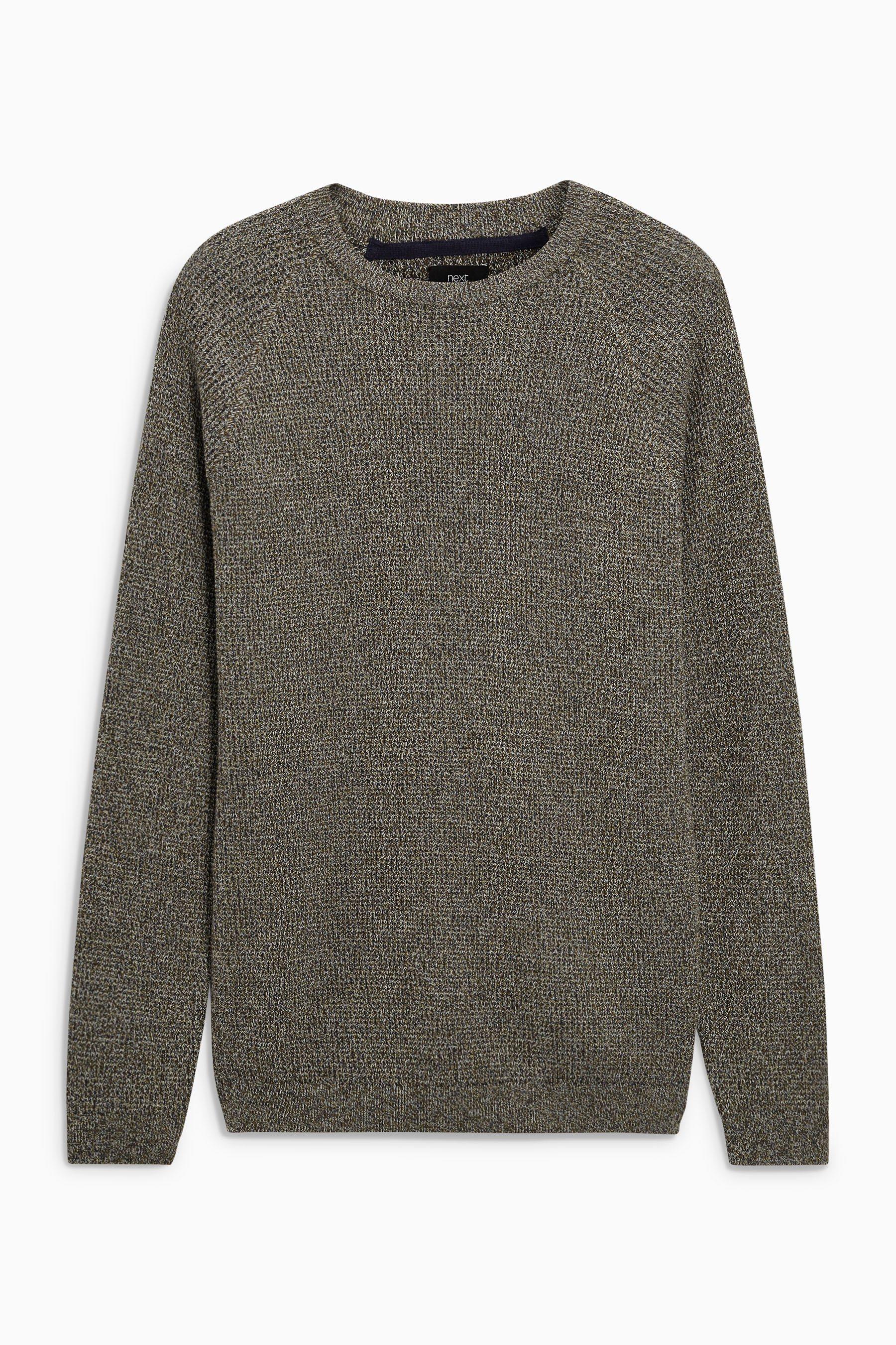 Next Pullover mit Waffelstruktur