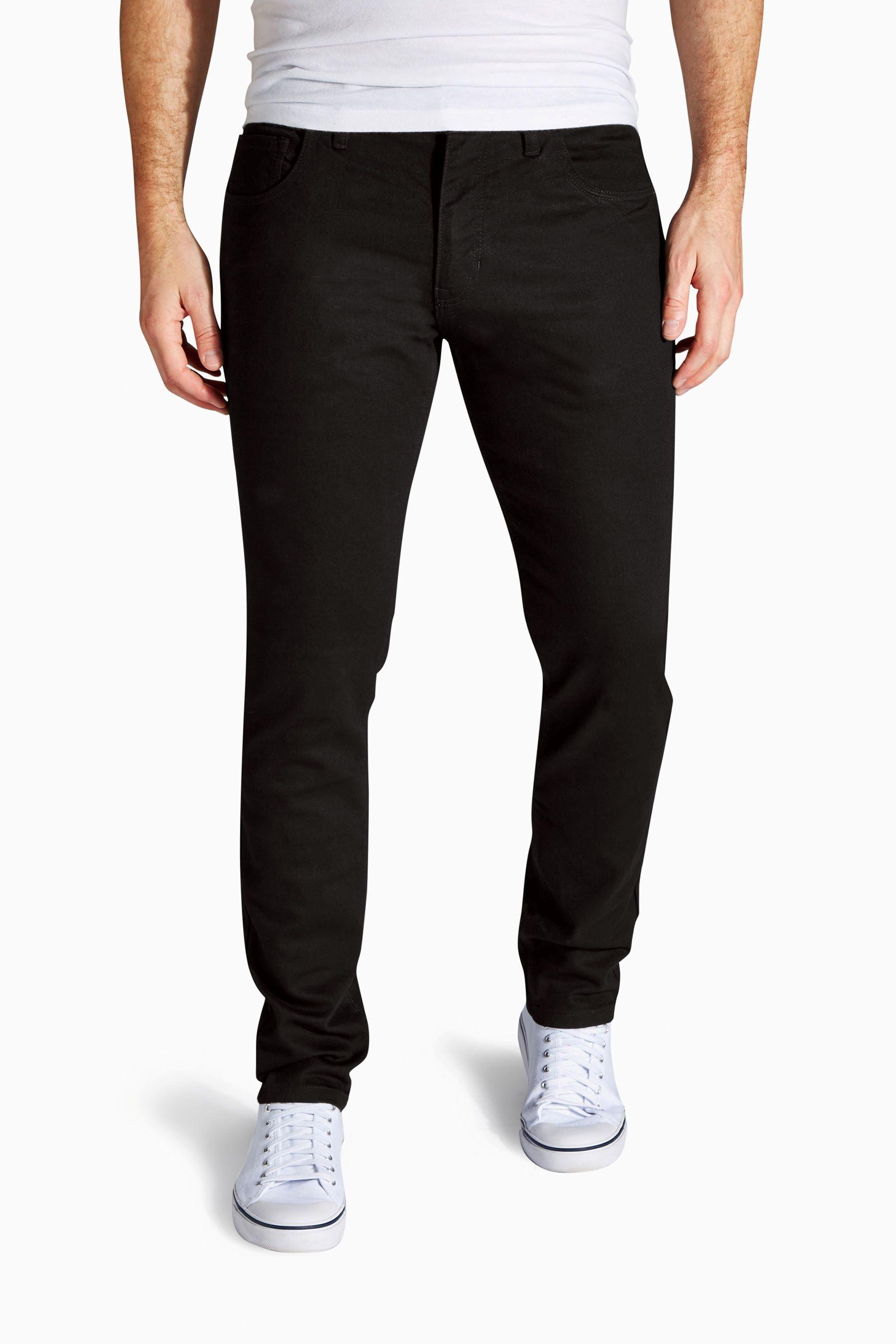 Next Skinny-Fit Black Denim Stretch-Jeans