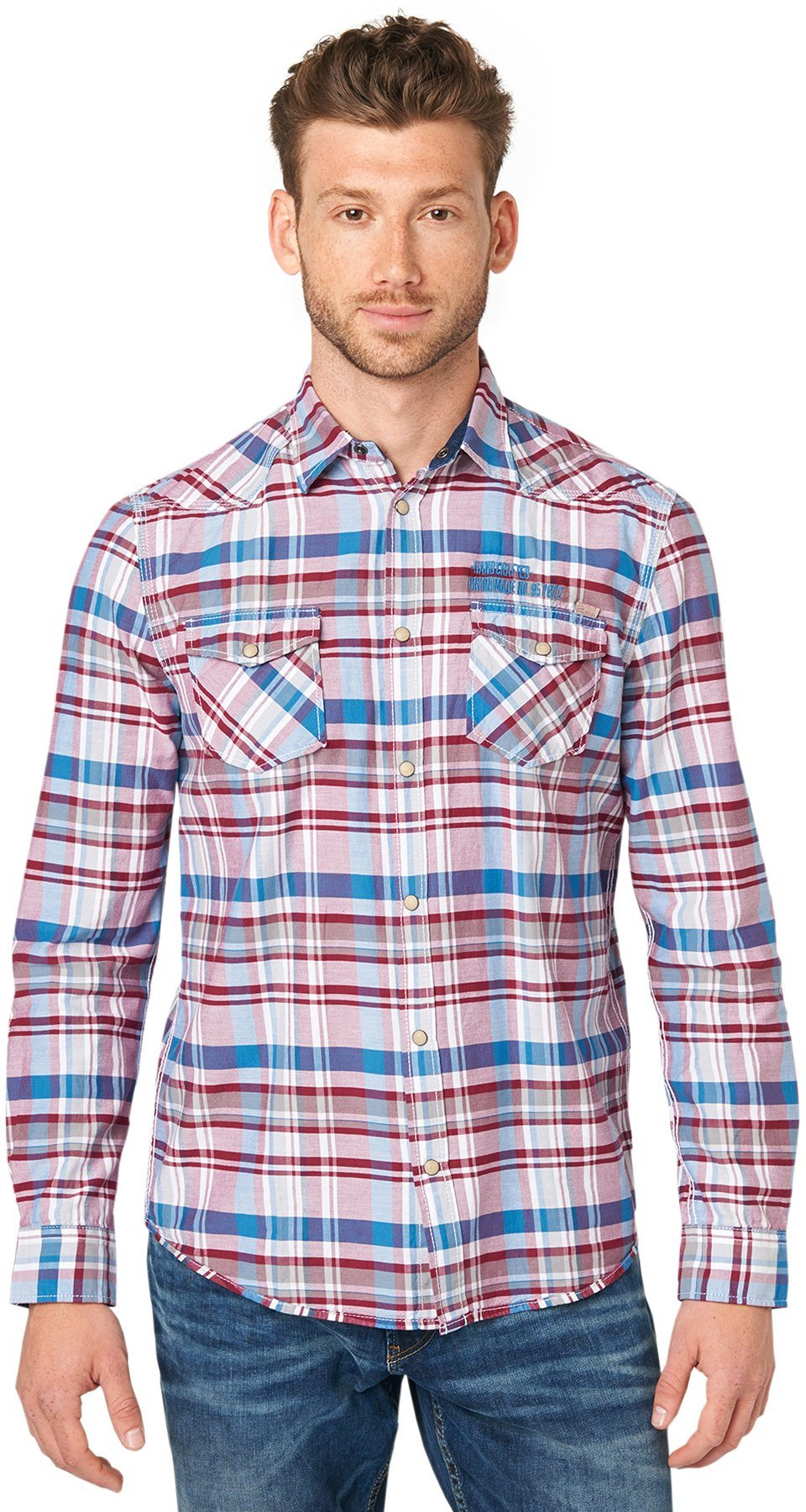 TOM TAILOR Hemd »ray lumberjack check shirt«