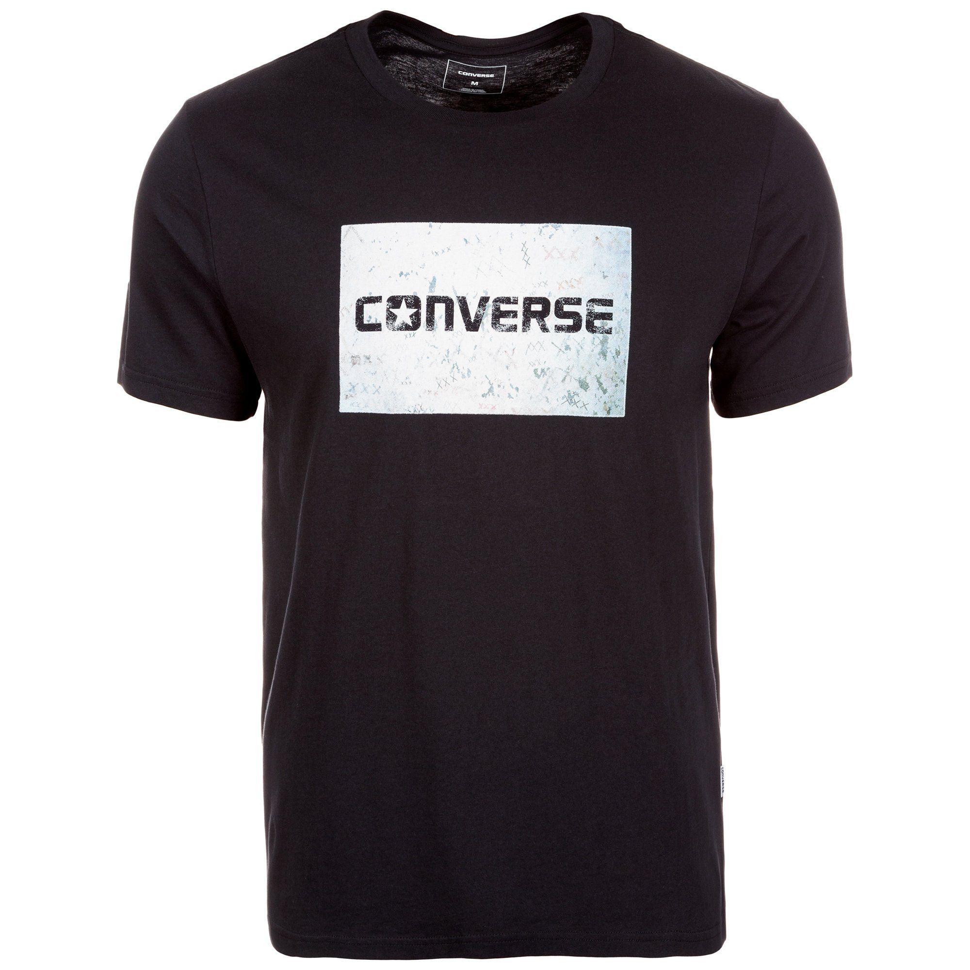 CONVERSE Graffiti Photo T-Shirt Herren