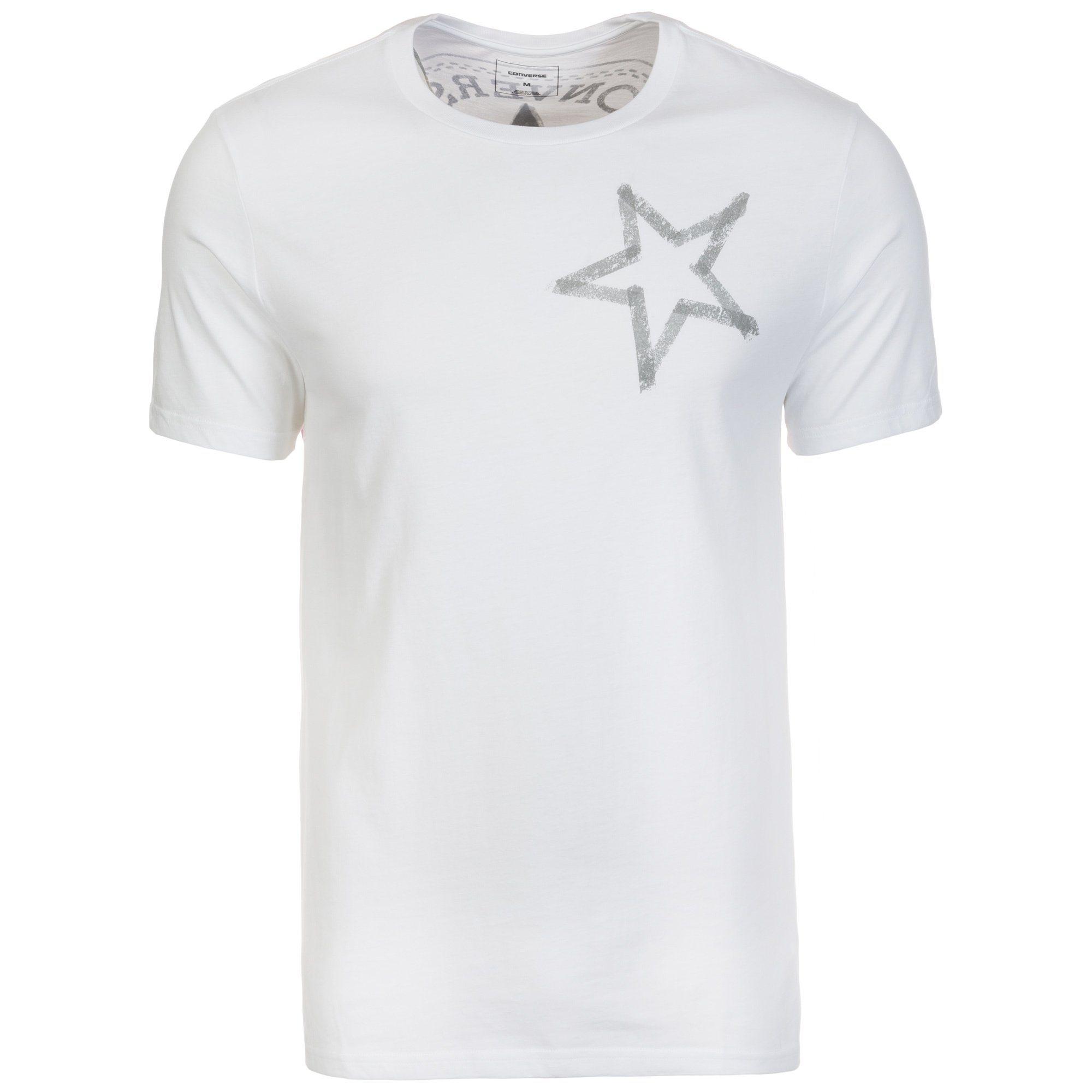 CONVERSE Reflective Tape Star T-Shirt Herren