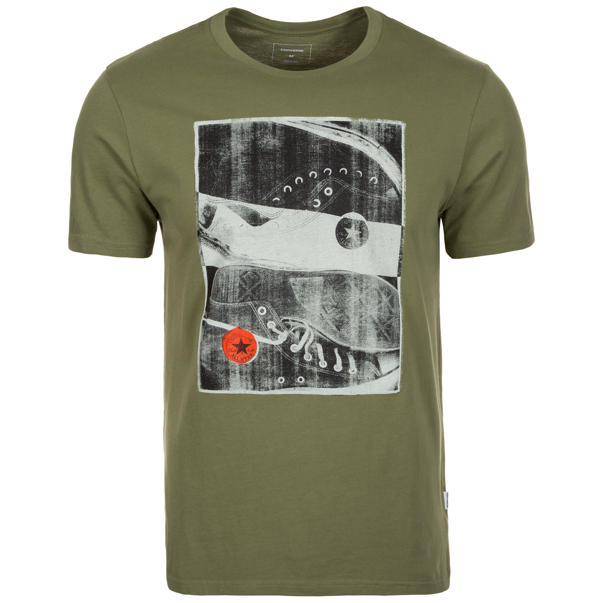 CONVERSE Chucks Photo T-Shirt Herren