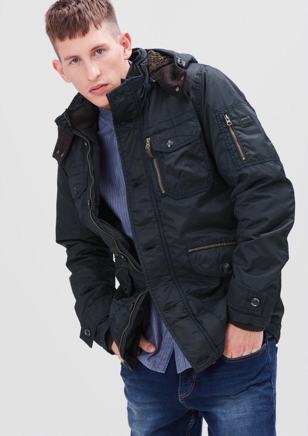 s.Oliver RED LABEL Gefütterte Outdoor-Jacke