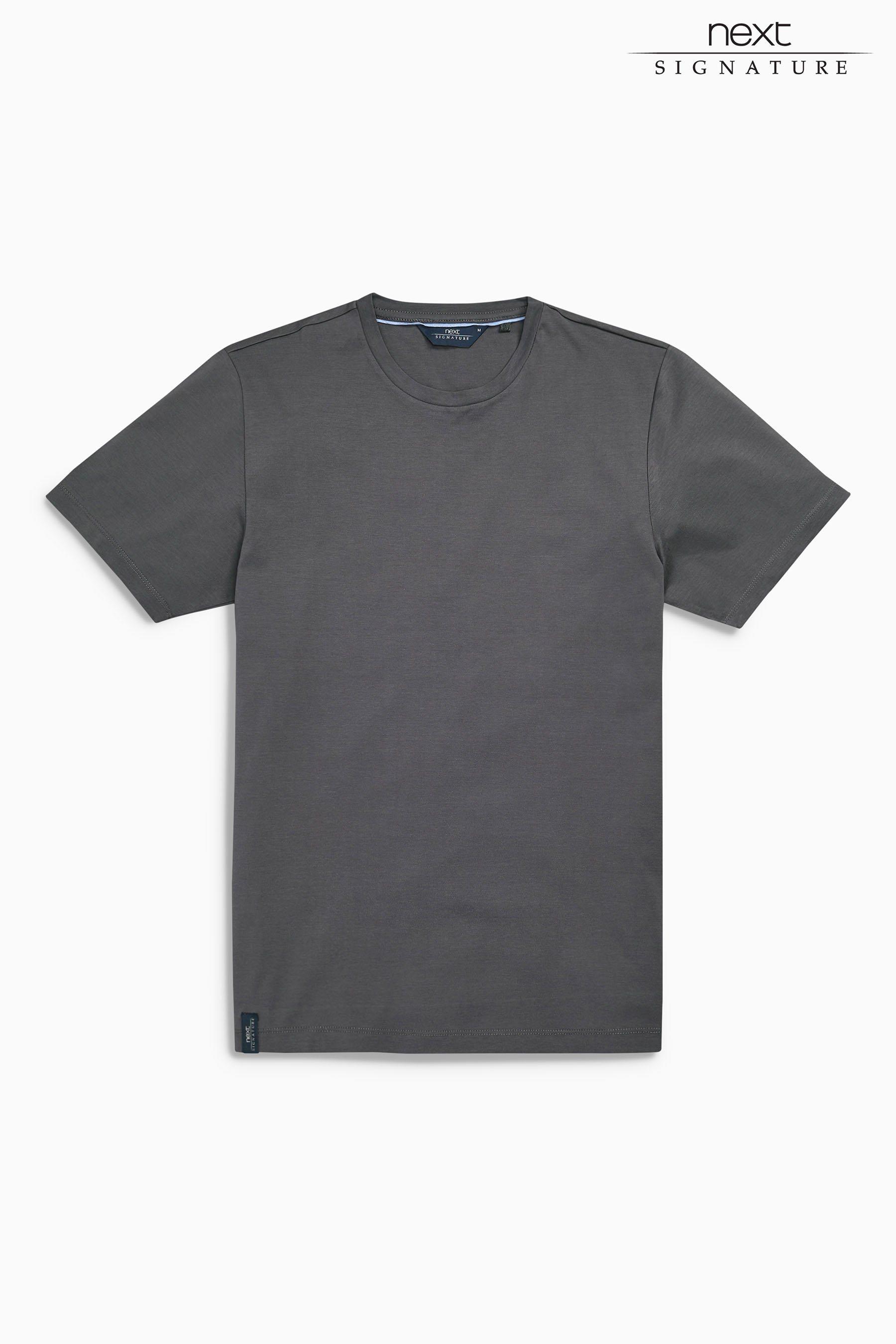 Next Merzerisiertes T-Shirt