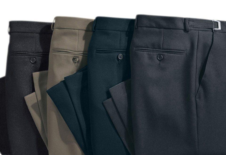 Classic Basics Hose mit gepflegten Bügelfalten vorne und hinten