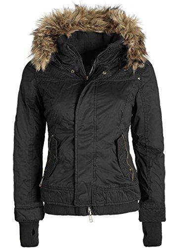 KHUJO Bici Winterjacke, Größe:L;Farbe:Black (200)