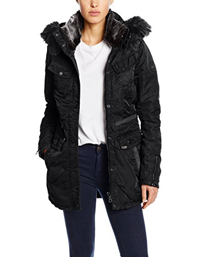 Khujo Damen Jacke Chives, Schwarz (Black 200), X-Large