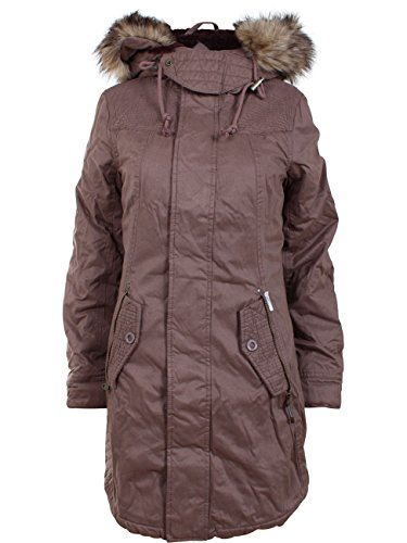 Khujo Damen Parka Milo 1840JK163 Mud Rose XL