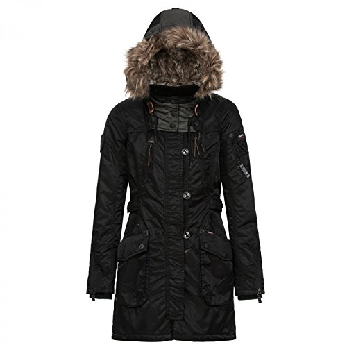 Khujo Damen Winterjacke Romane 1018CO153 Black S