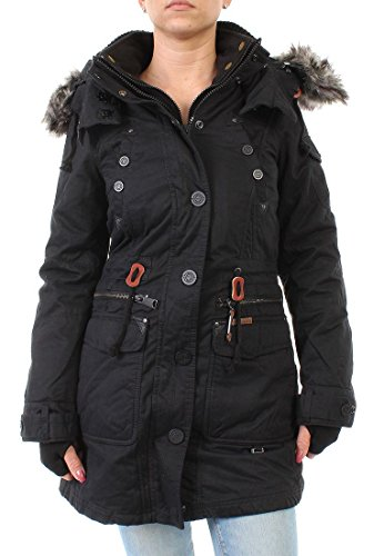Khujo Jacke Women THYRA WITH INNER JACKET Black, Größe:S
