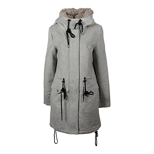 Khujo Ramya 1170CO163 Damen-Winterjacke Light Grey Melange (B22) Gr. L
