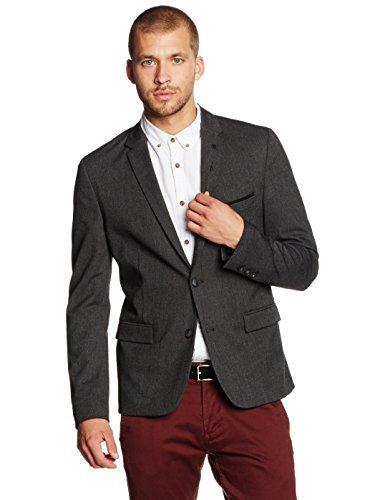 BOSS Orange Herren Anzugjacke Benestretch_BS, Grau (Medium Grey 039), Large (Herstellergröße: 52)