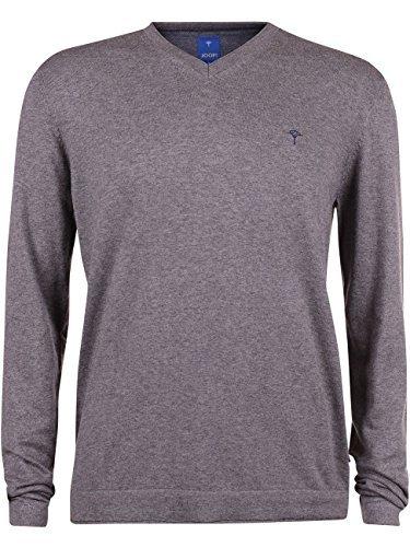 Joop! Herren V-Neck Pullover Gideon, Größe:XL;Farbe:Grau (030)