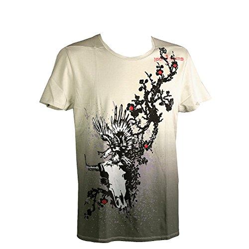 Joop! Jeans, Nandolo, kurzarm Shirt T-Shirt, feiner Jersey, hellolive olive, S [10600]
