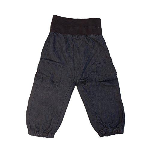 Minymo Unisex Baby Hose Basic 37 -Baggy Pants -Unisex,, Gr. 80 cm,Blau (Dark Blue)