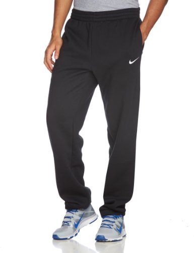 Nike Herren Trainingshose Fleece Cuff Pants, Black/White, S, 455800-010