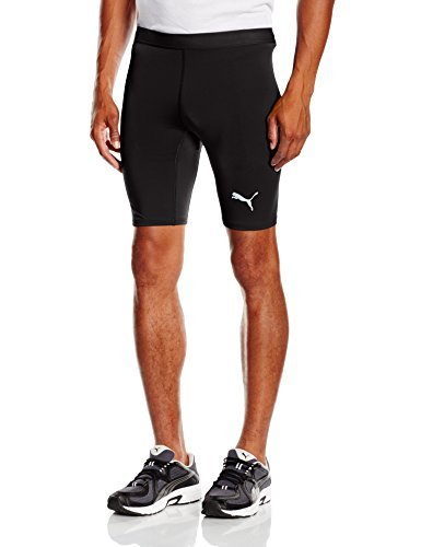 PUMA Herren Hose TB Shorts Tights, black, M, 654617 03