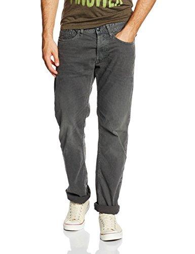 Replay Herren Jeanshose Newbill, Grau (Dark Grey 30), W33/L32 (Herstellergröße: 33)