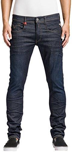 Replay Herren Stretch Jeans Anbass, Gr. W32/L32 (Herstellergröße: 32), Blau (Blue Denim 7)