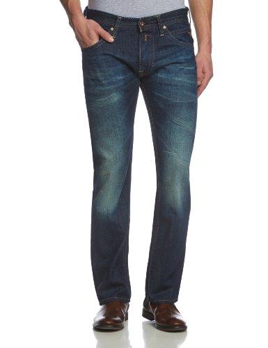 Replay Herren Tapered Jeanshose Tillbor, Gr. W33/L34 (Herstellergröße: 33), Blau (Denim Blue 7)