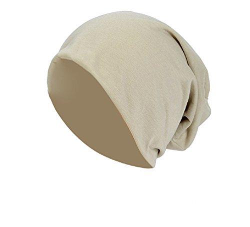 Baumwolle Long Beanie Slouch Unisex in versch Farben leicht und weich Longbeanie