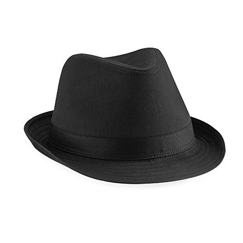 Beechfield - Fedora Hut Small / Medium,Black