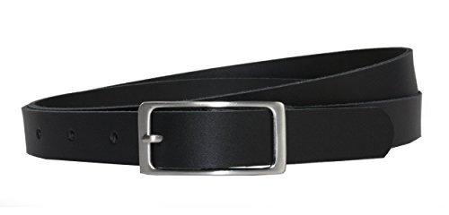 Ledergürtel 100 % echt Leder, 2 cm breit und ca. 0.25 cm stark, Gürtel, Hüftgürtel, Jeansgürtel, Vascavi, Made in Germany
