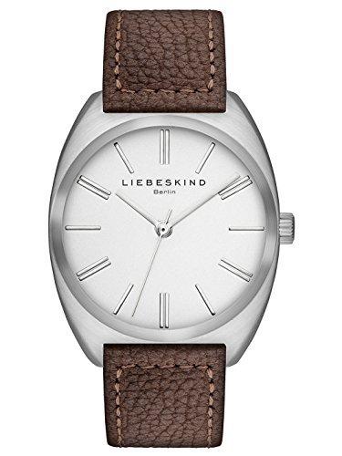 Liebeskind Berlin Damen-Armbanduhr Nubuk Analog Quarz