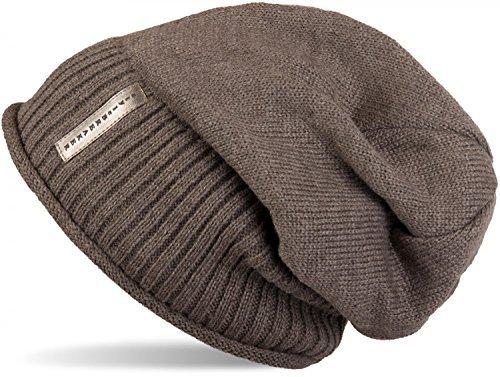 styleBREAKER warme Feinstrick Beanie Mütze mit sehr weichem Fleece Innenfutter, Unisex 04024065